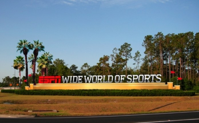 The ESPN Wide World of Sports Complex will host the MLS and the NBA (Disney)