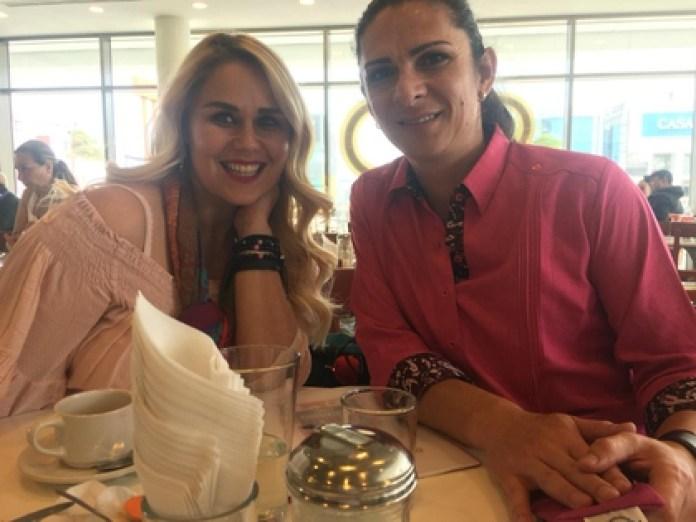 Armida Adriana Ramírez Corral and Ana Gabriela Guevara are comadres (Photo: Courtesy)