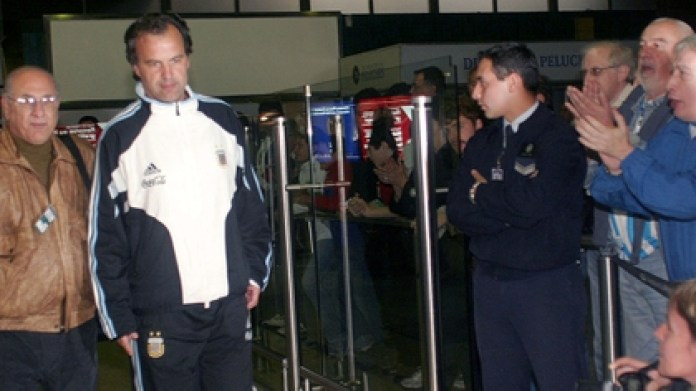 For Grondona it did not matter that Bielsa did not greet the leaders (Photo: NA)