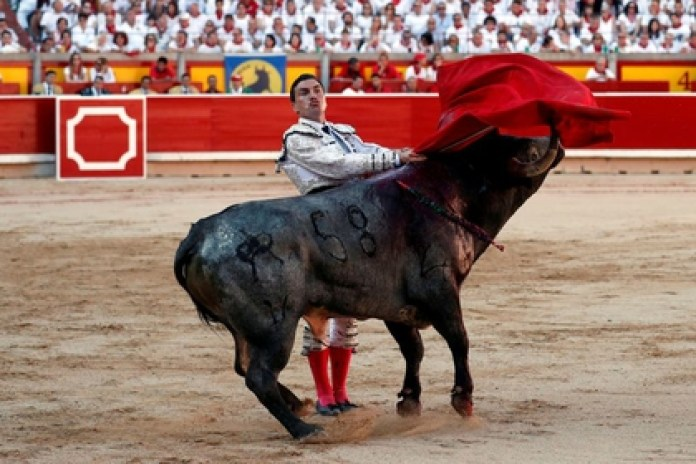 Bullfighting is considered the