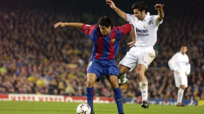 Riquelme completed 43 games with the Barcelona shirt and scored 6 goals