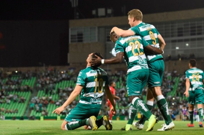 Santos is the template with the most positive cases in Liga MX (Photo: EFE)