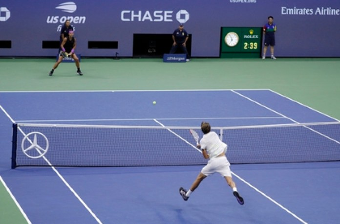 Tests will be carried out on tennis players to verify that they are not infected with Covid-19 (EFE)