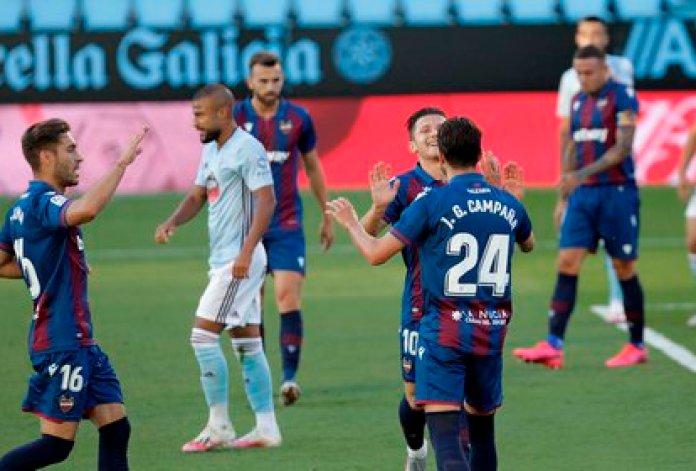 Celta de Vigo's draw against Levante gave life to Leganés del Vasco (Photo: Salvador Sas / EFE)