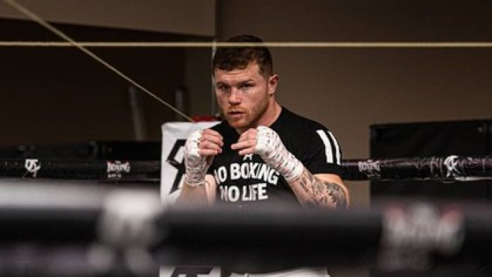 The boxer decided to help children with cancer (Photo: Instagram / canelo)