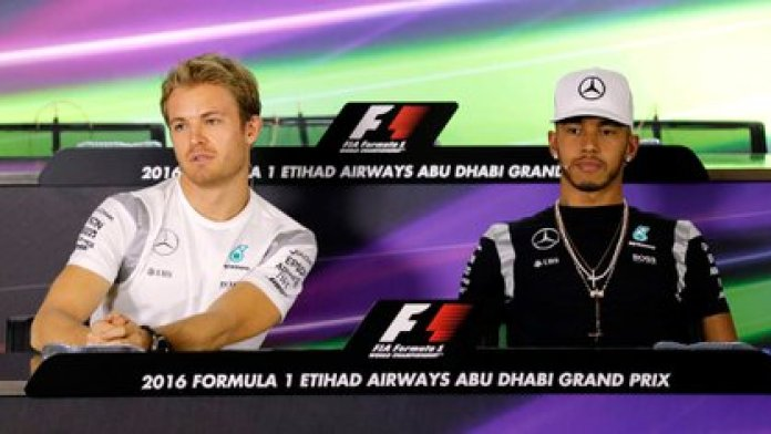 Hamilton and Rosberg shared a team from 2013 to 2016 (EFE)