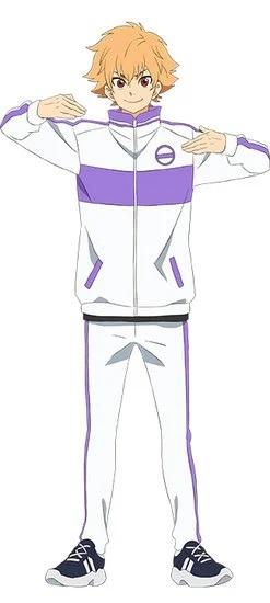 Bakuten !!  Rhythmic gymnastics anime is coming April 2021 - anime news - anime premieres - cast - Daiki Yamashita as Shunsuke Azuma