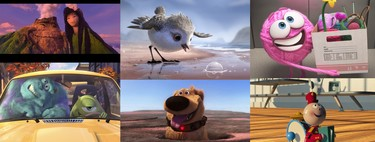 Pixar: all Disney + shorts ordered from worst to best