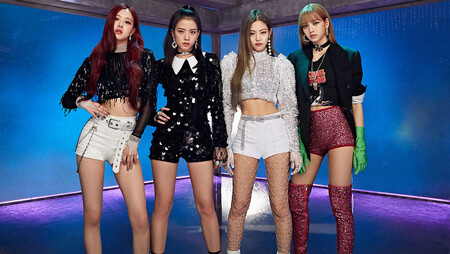 Korean K-Pop group Blackpink.