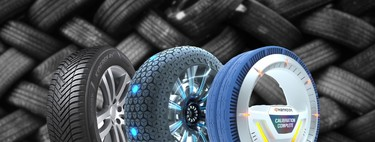 Metal, airless or spherical: 10 prototype tires that promise to solve punctures in the cars of the future