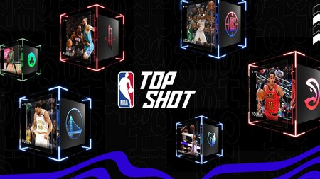 NBA Top Shot, the NBA's NFT buying and selling website.