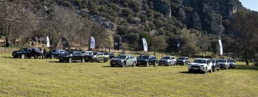 We tested Toyota's 4x4 range: from the more accessible RAV4 to the unstoppable Land Cuiser, and with Isidre Esteve's Hilux as icing on the cake