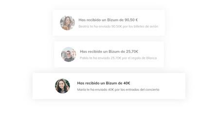 Payments between friends with Bizum