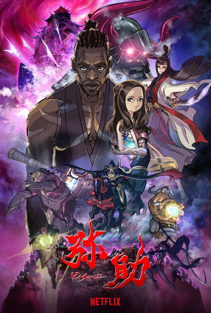 Yasuke anime premieres April 29 on Netflix globally - anime news - spring 2021 anime premieres - netflix