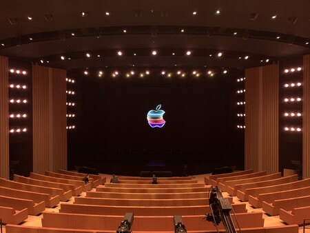 Inside the Steve Jobs Theater, September 2019