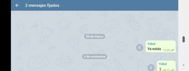How to pin messages on Telegram