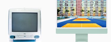 The 23-year evolution of the iMac G3 to the new iMac 2021