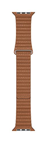 Apple Watch 44mm Leather Loop Strap - Camel Brown - Large