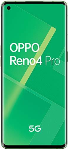 """Oppo Reno 4 Pro 5G - Pantalla de 6.5"""" (180 Hz screen, 12 / 256Gb, Snapdragon 765G 5G, 4000mAh with 65W load, Android 10) Green [Versión ES/PT]"""