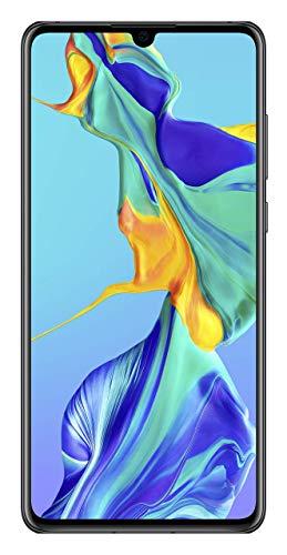 "Huawei P30 - Smartphone de 6.1"" (Kirin 980 Octa-Core 2.6GHz, 6 GB RAM, 128 GB internal memory, 40 MP camera, Android) Color Black [Versión importada]"