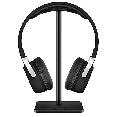 Headphone Stand, New bee Universal Stand for Headphones and Headphones on Table for Bose QuietComfort 25, QuietComfort 35, Gaming Headset Stand, Beats Solo 2/3, Sony Playstation etc Black