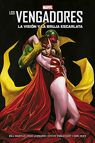 The Avengers.  Vision and the Scarlet Witch