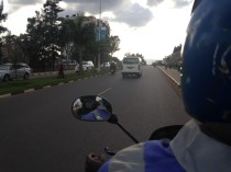 My mototaxi ride to town
