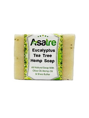 Eucalyptus Tea Tree Handmade Hemp SoapHemp