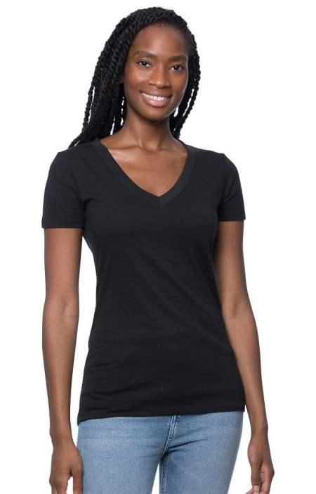 Hemp and Organic Cotton Vneck T-shirt