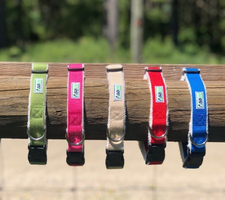 Hemp Dog Collars All Colors