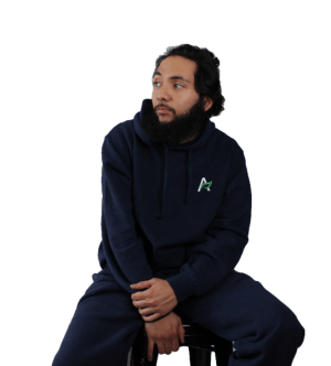 Hemp and Organic Cotton Sweatshirt - Navy