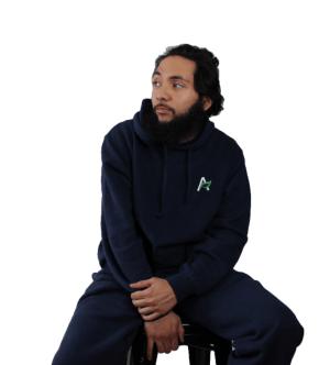Hemp and Organic Cotton Sweatshirt - Navy