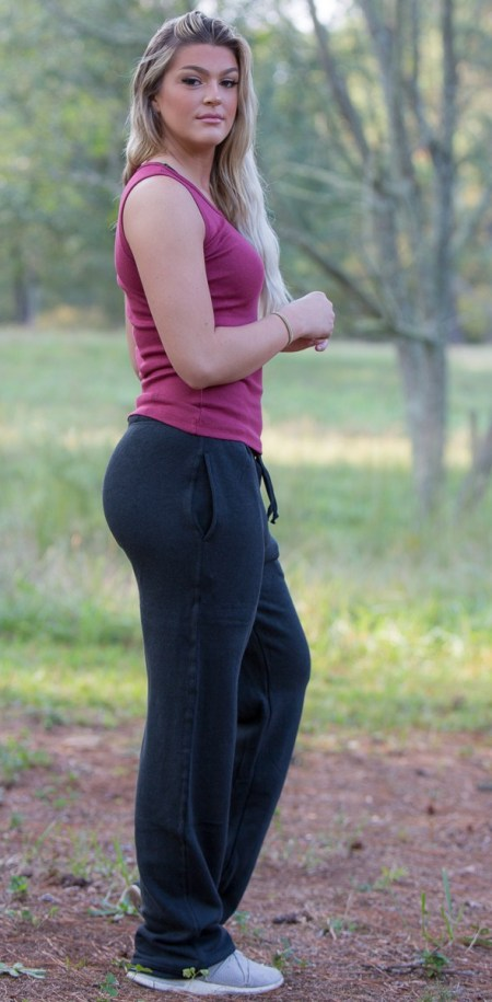 Women's Hemp Fleece Sweatpants