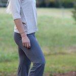 Hemp and Cotton Yoga Pants