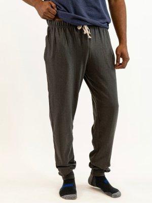 Men's Hemp Jersey Joggers Gray