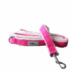 Hemp Pink Dog Leash