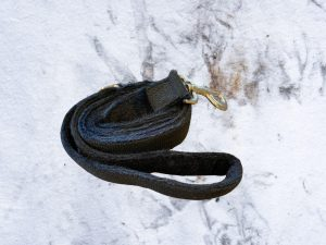 Hemp Black Dog Leash