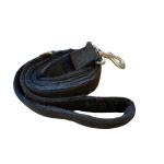 Hemp Black Dog Leash