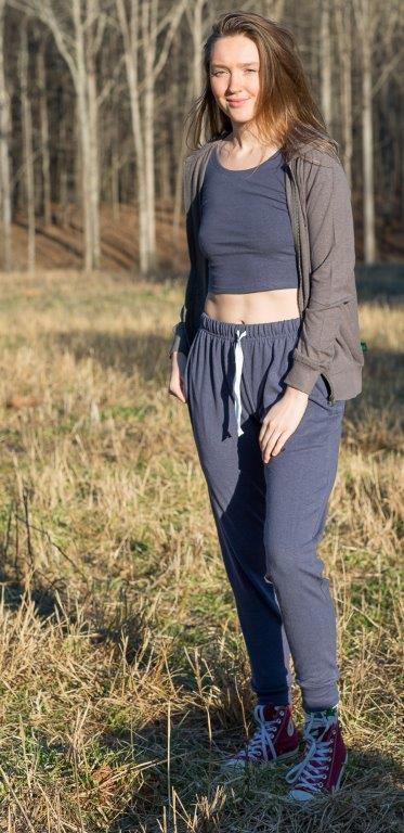 Hemp and Organic Cotton Jersey Joggers