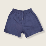 Hemp and Organic Cotton Boxers by Asatre - Navy Blue