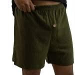 Hemp and Organic Cotton Boxers - Olive