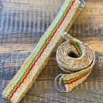 Eco-friendly Hemp Belt - Silk Rasta