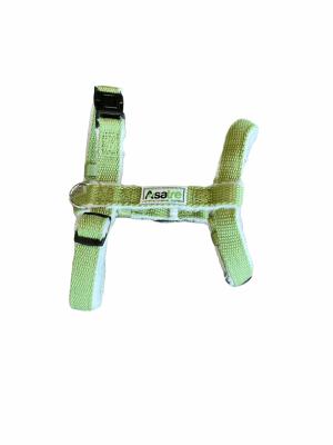 Asatre Hemp Dog Harness - Green
