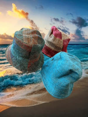Eco-friendly Hemp Bucket Hats