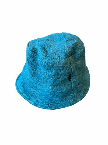 Asatre Hemp Bucket Hat - Teal