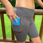 Hemp Bike Shorts with Pockets