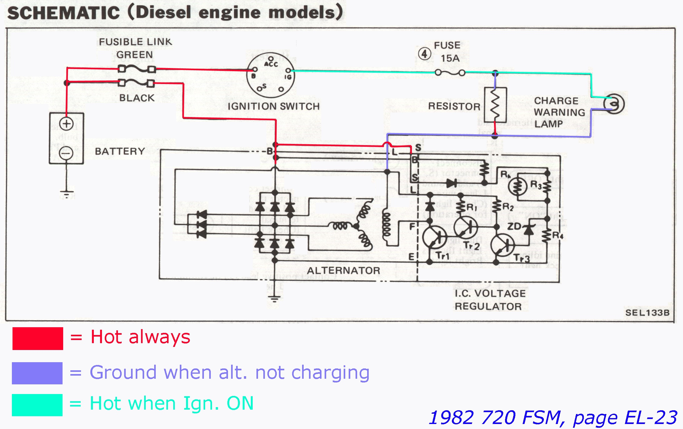 Nippondenso Alternator Wiring Alternators Diagram