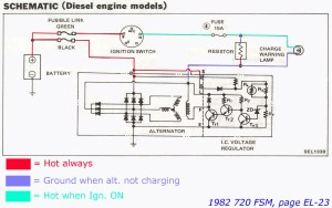 Hitachi LR150 50A alternator  Page 2  NissanDiesel