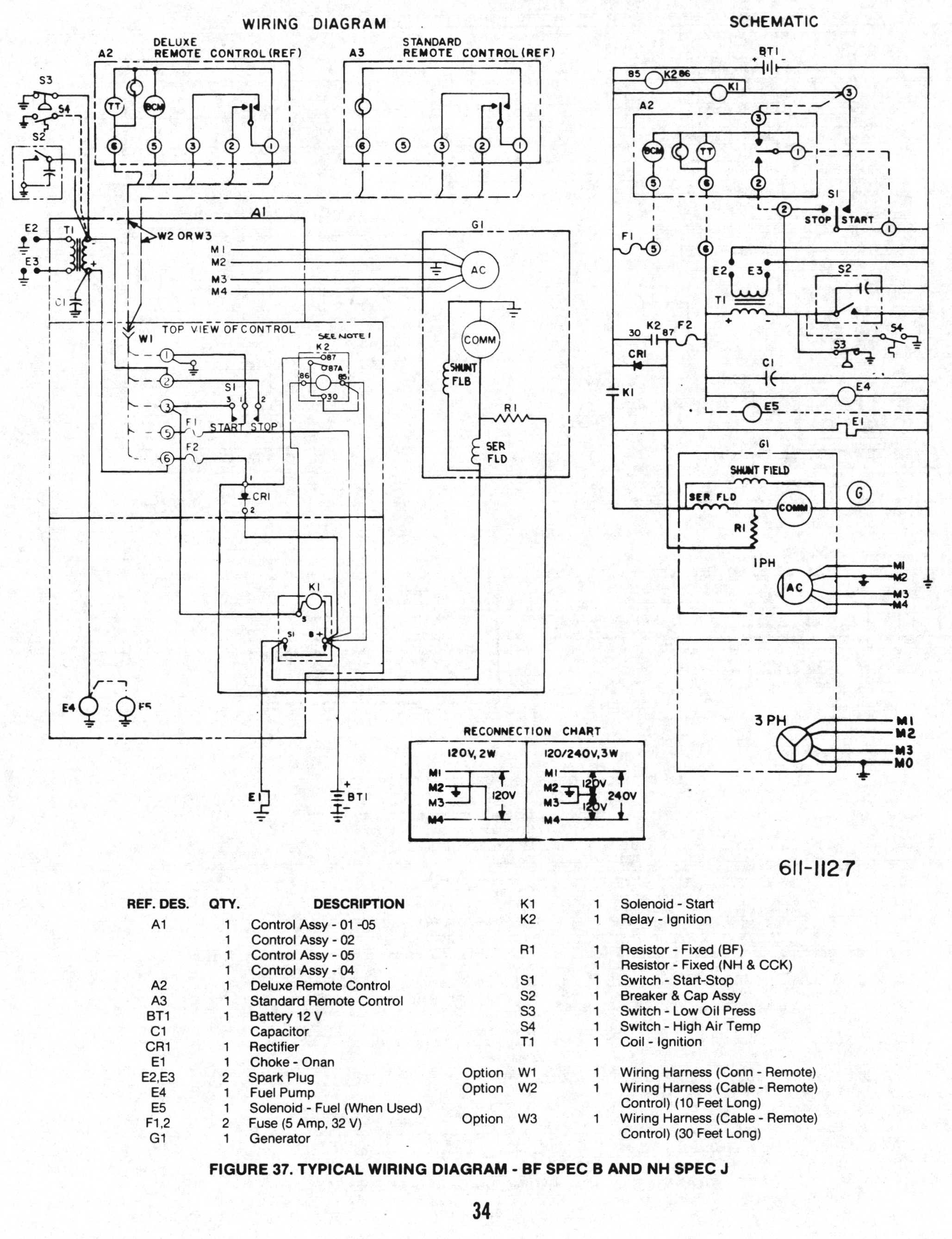 Onan Genset Wiring Diagrams