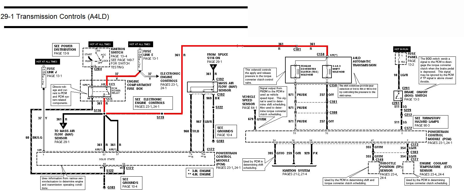 97 F150 Transmission Diagram